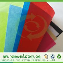 China sunshine factory polypropylene spunbond nonwoven fabric stock fabrics kg