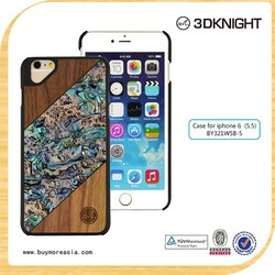 fancy nature wood case for iPhone 6 Plus