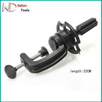 Hairdressing Stands Clamp Salon Styling Tools Hair Model Mannequin Holder Wig Training Head Mold Tripod Adjustable