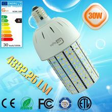 new type 30w droplight bulb post top light indoor led light bulb 360 degree corn lamp