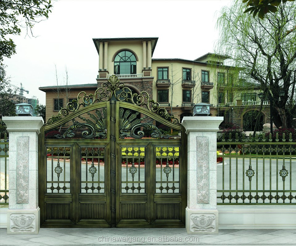 ... Design Plans as well Modern House Exterior. on iron gate designs for