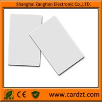 passive ID card hotel key printing card white blank card