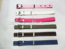 2014 canvas webbing belt with pin buckle