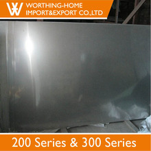 Excellent Quality Etching 6k Surface Finish Grade 201 1.5mm Thick Stainless Steel Plate