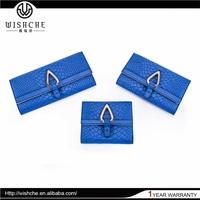 Wishche Bargain Sale Top Class Comfortable Design Metal Lined Wallets Wholesale Manufacturer W114