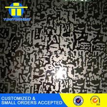 high quality etched stainless steel sheets