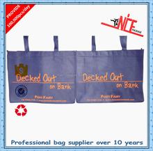 Cosmetic bag pictures printing pp non woven shopping bag laminated non woven bag