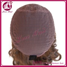 Wholesale High Quality Glueless 100% Brazilian Virgin comfortable Jewish Lace Front Human Hair Wigs