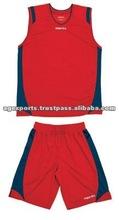 girls clothing basketball red