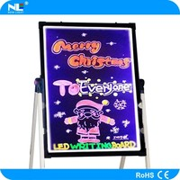 Wholesale alibaba led writing board mobile display advertising programmable led paper thin light board made in china