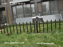 ISO Certificated of Metal garden lawn edging fence with cheap price