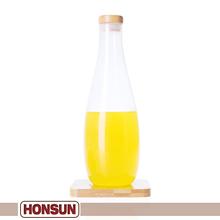 Creative elegant new design glass water bottle canada