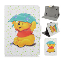 Cartoon Flip Stand PU Leather Cover Case For Universal 7'' iPad Tablet PC
