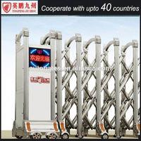 Modern steel gates expanded stainless gate sliding door motor gate