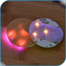 High Quality Party Favor Promotional New Style Mat Sticker Led Coaster