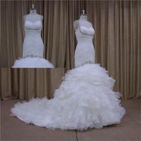 Pretty 2013 exquisite organza wedding gown 2015