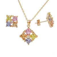 2015 Latest Imitation women jewelry , best selling products in america zircon jewelry set
