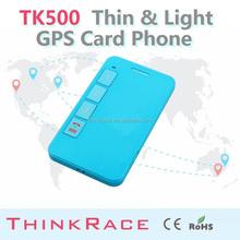 2015 Thinkrace anti child trafficking chip gps locator with sms control TK500