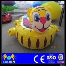 Theme park water games, inflatable bumper boat, PVC inflatable kids boat for sale