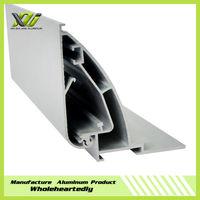 Banner aluminum light box extrusion profile