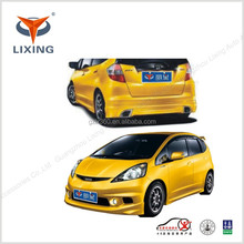 Best price auto big body kits manufacturers (4 pieces) for HONDA FIT