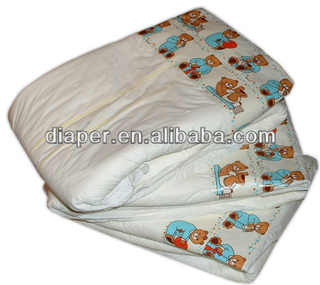 Adult printed diapers ideal