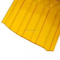 2.5mm x 0.2mm x 50m Yellow Orange Transparent pvc strip curtain, freezer pvc strip curtain