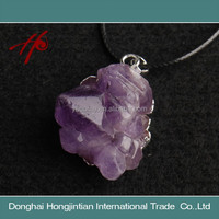Wholesale Price Natural Crystal Pendant Amethyst Pendant