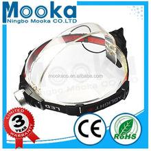 MH003003 Most Popular Dry Battery headlight for Hunting 3w bajaj 3 wheeler head light