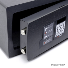CISA Hotel Safes with Lifetime Warranty (Made in Italy) - 90 degree Opening
