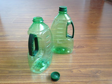 Plastic olive oil container