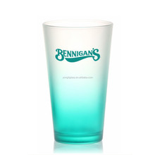 Wholesale high quality pint glasses,customized juice glass ,drinking glass cup