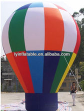 Inflatable cold air balloon for advertising,big inflatable ground balloon for advertisement