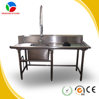 Commercial Stainless Steel Kitchen Sink Restaurant Used Kitchen Sink Wash Sink for Sale