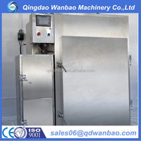CE Commercial automatic smoke machine for smoked fish,meat,chicken,duck,bacon,salami,sausage food plant
