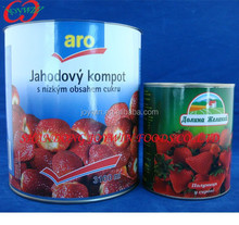 New Crop Sweet Canned Strawberry In Light Syrup,Canned Strawberry fruit,Canned Fruits