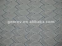 high quality product design cotton voile embroidery fabric textile