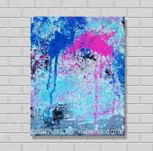 Hot New Product Blue Color Canvas for Painting