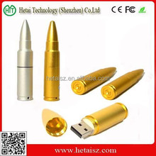silver bullet usb flash drive, bullet shaped usb stick 512gb, metal bullet shape usb 1gb cheap