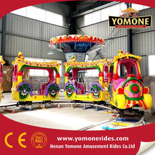 New products Amusement rides track train of children game used outdoor equipment for sale