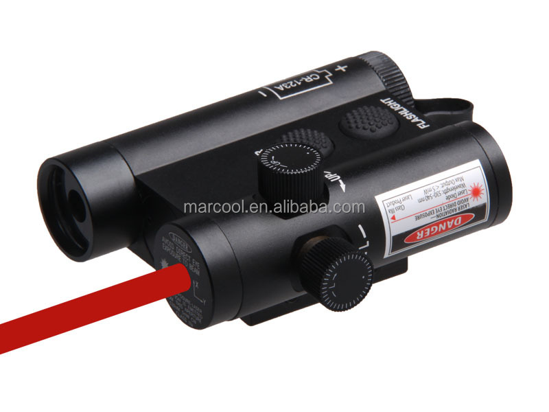 HY3212 Flashlight LF-3RLED Flashlight and Red Laser Integration with Weaver Mount  Remote Switch (5)