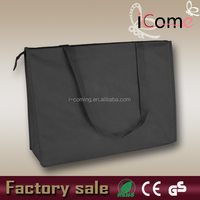 Print non woven tote bag with zip(ITEM NO:N150764)