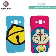 Wholesale Alibaba Sublimation Cell Smart Phone Cover, Plastic Mobile Cover for Samsung J1