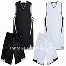 Reversible Mesh Wholesale Blank Basketball Jersey