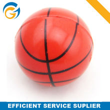 Cheap Promotion Printing Basketball Bouncing Plastic Ball