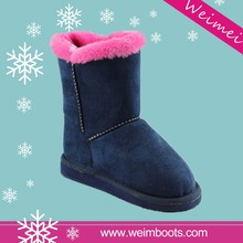 best selling high quality new design cheap fancy women snow boots