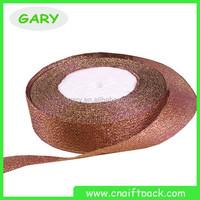 2015 Wholesale Gift Wrapping Metallic Ribbon