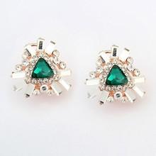 Flower Pendant Diamond Earrings Type Indian Wedding Gifts Wholesale