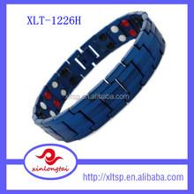 Many healthy energy element bracelet, Stainless steel cuff bracelet crazy sales
