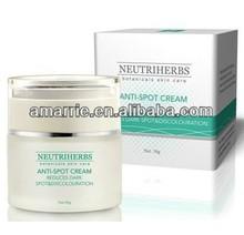 blanqueamiento eficaz contra moteado crema para la cara